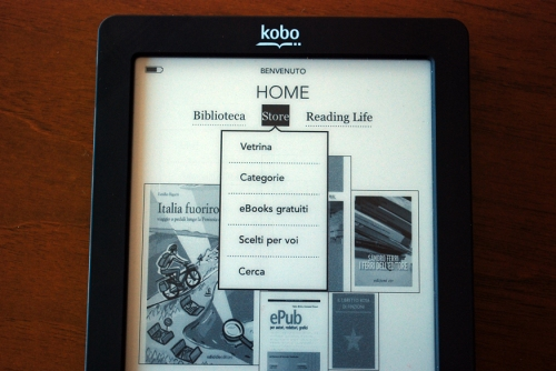 Kobo Touch Store