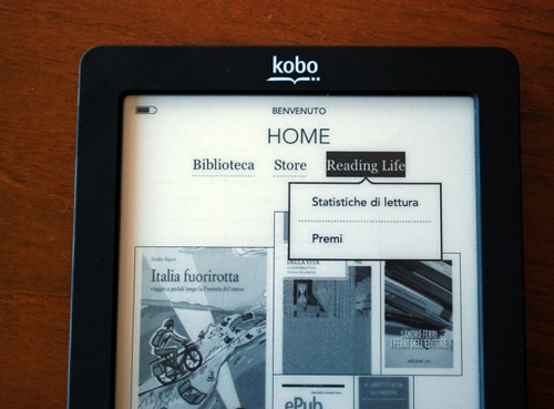 Kobo Touch Reading Life