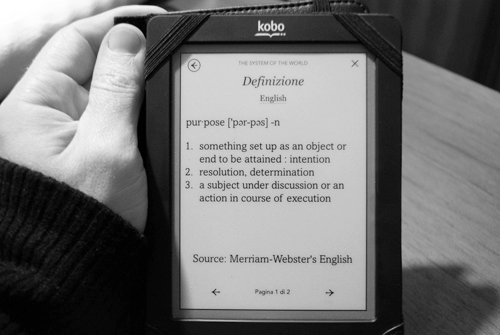 Merriam-Webster su Kobo Touch