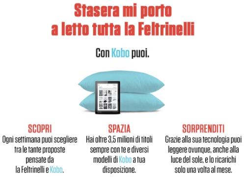 Novità per Librerie Feltrinelli ed ebook, da metà ottobre cosa cambia dopo l'accordo con Kobo