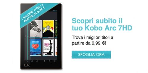 Anche in Italia in vendita da novembre 2013 i nuovi tablet Kobo