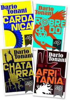 I quattro ebook del primo ciclo di Mondonove di Dario Tonani