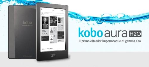 Mi è caduto un ebook nella vasca: il Kobo Aura H20